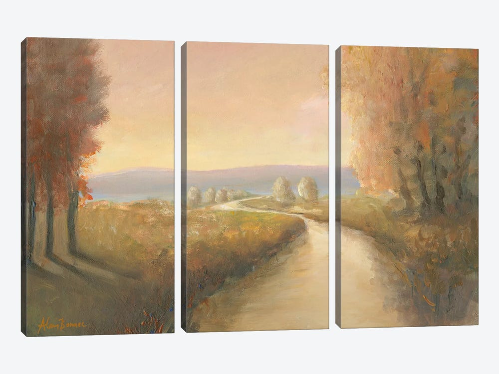 Enchanted Moment IV by Bonnec Brothers 3-piece Canvas Art Print