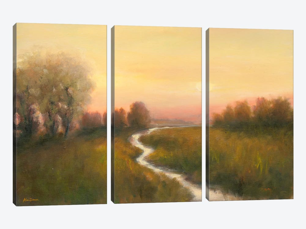 Enchanted Moment V by Bonnec Brothers 3-piece Canvas Artwork