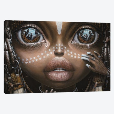 Beauty Will Save The World I Canvas Print #BOR102} by Adrian Borda Canvas Art
