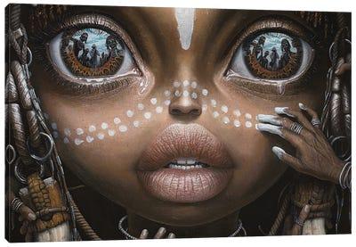 Beauty Will Save The World I Canvas Art Print