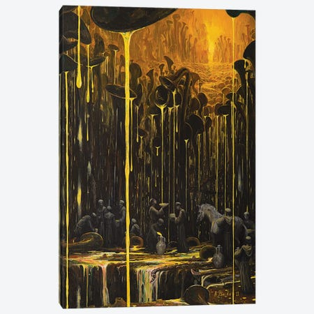 The Realm Where Music Flows Canvas Print #BOR109} by Adrian Borda Canvas Wall Art