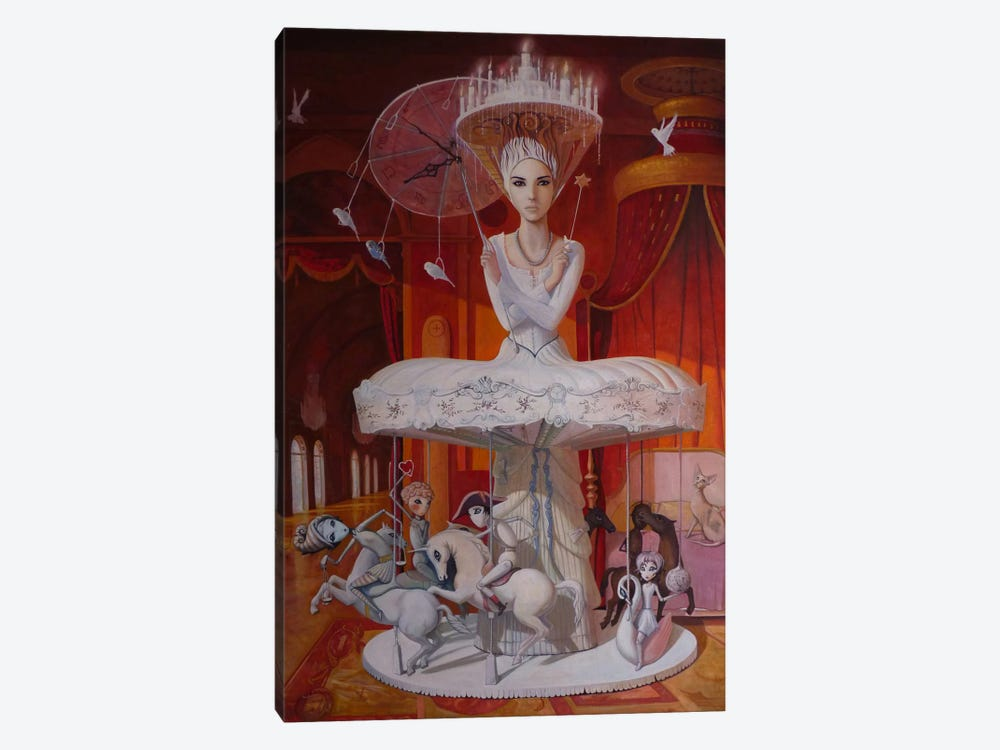 Games People Play by Adrian Borda 1-piece Canvas Print