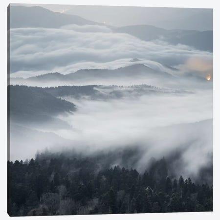 A Magical Dawn Canvas Print #BOR1} by Adrian Borda Canvas Art