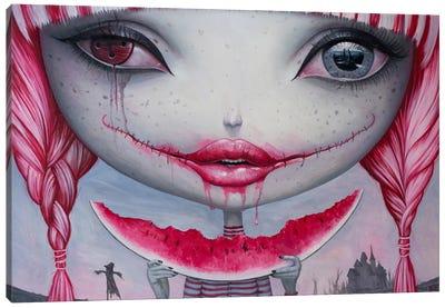 Haunting Lust Canvas Print #BOR20