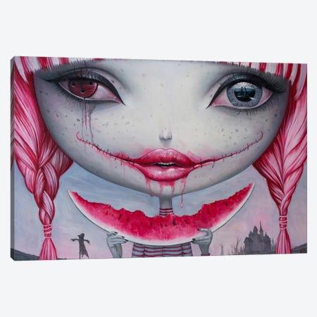 Haunting Lust Canvas Print #BOR20} by Adrian Borda Canvas Art Print