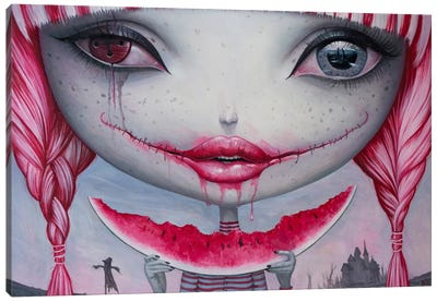 Haunting Lust Canvas Art Print