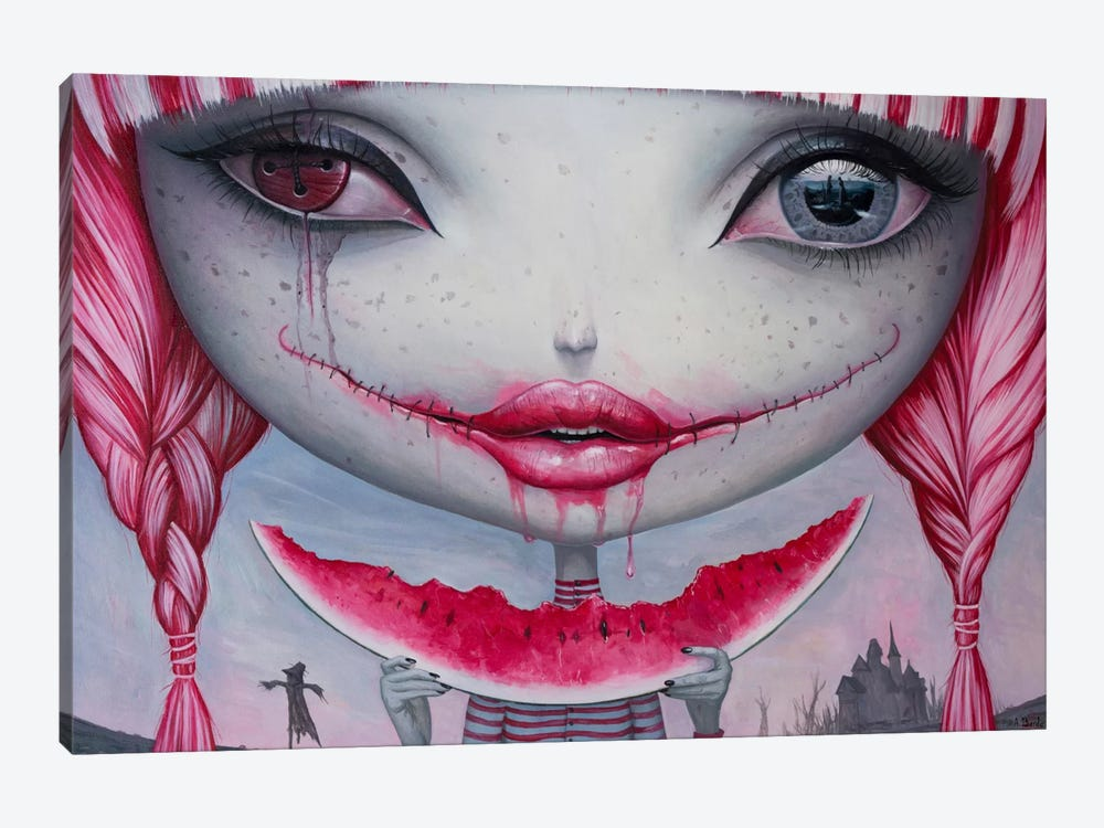Haunting Lust by Adrian Borda 1-piece Canvas Print