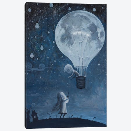 He Gave Me The Brightest Star Canvas Print #BOR21} by Adrian Borda Art Print