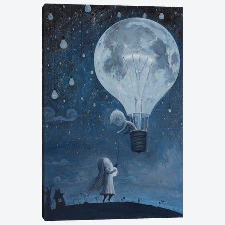 He Gave Me The Brightest Star Canvas Print #BOR21} by Adrian Borda Art Print