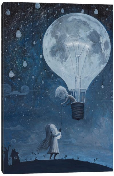 He Gave Me The Brightest Star Canvas Art Print
