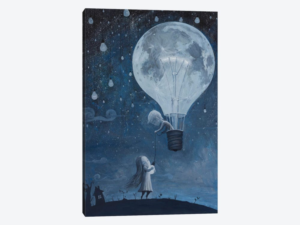 He Gave Me The Brightest Star by Adrian Borda 1-piece Canvas Wall Art