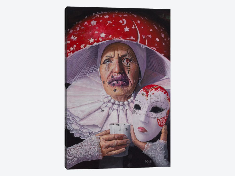 I Need No Name, No Mask Now by Adrian Borda 1-piece Canvas Art Print