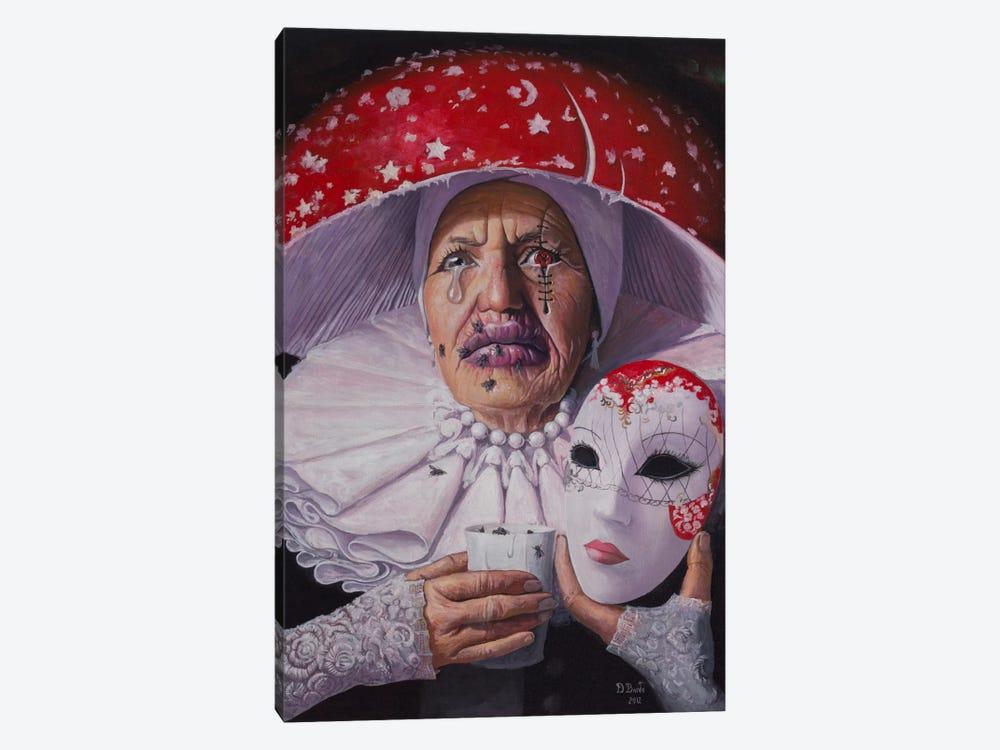 I Need No Name, No Mask Now by Adrian Borda 1-piece Canvas Art Print
