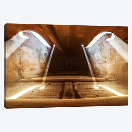 Inside Violin II Canvas Print #BOR26} by Adrian Borda Canvas Artwork