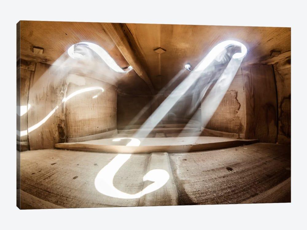 Inside Violin III by Adrian Borda 1-piece Canvas Artwork