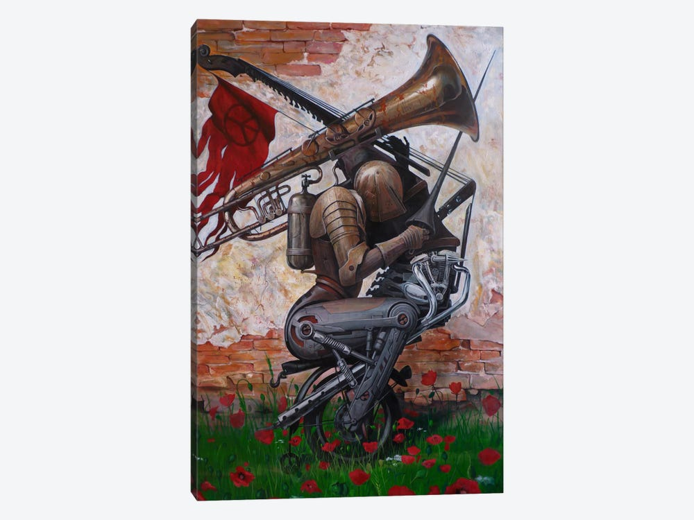 A Song Instead Of A Kiss by Adrian Borda 1-piece Art Print