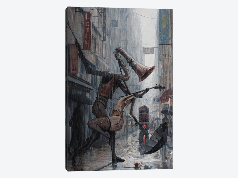 Life Is A Dance In The Rain by Adrian Borda 1-piece Canvas Wall Art