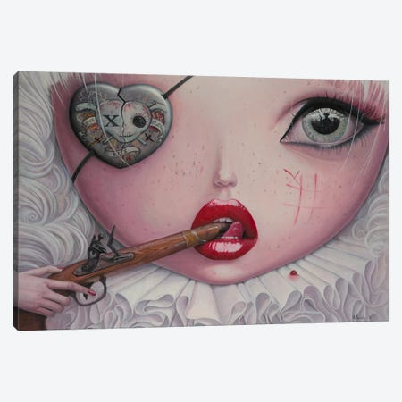 Love Slowly Kills IV Canvas Print #BOR33} by Adrian Borda Canvas Art