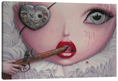 Love Slowly Kills IV Canvas Art Print