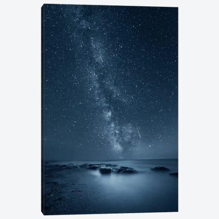Night Sky Canvas Print #BOR42} by Adrian Borda Canvas Art Print