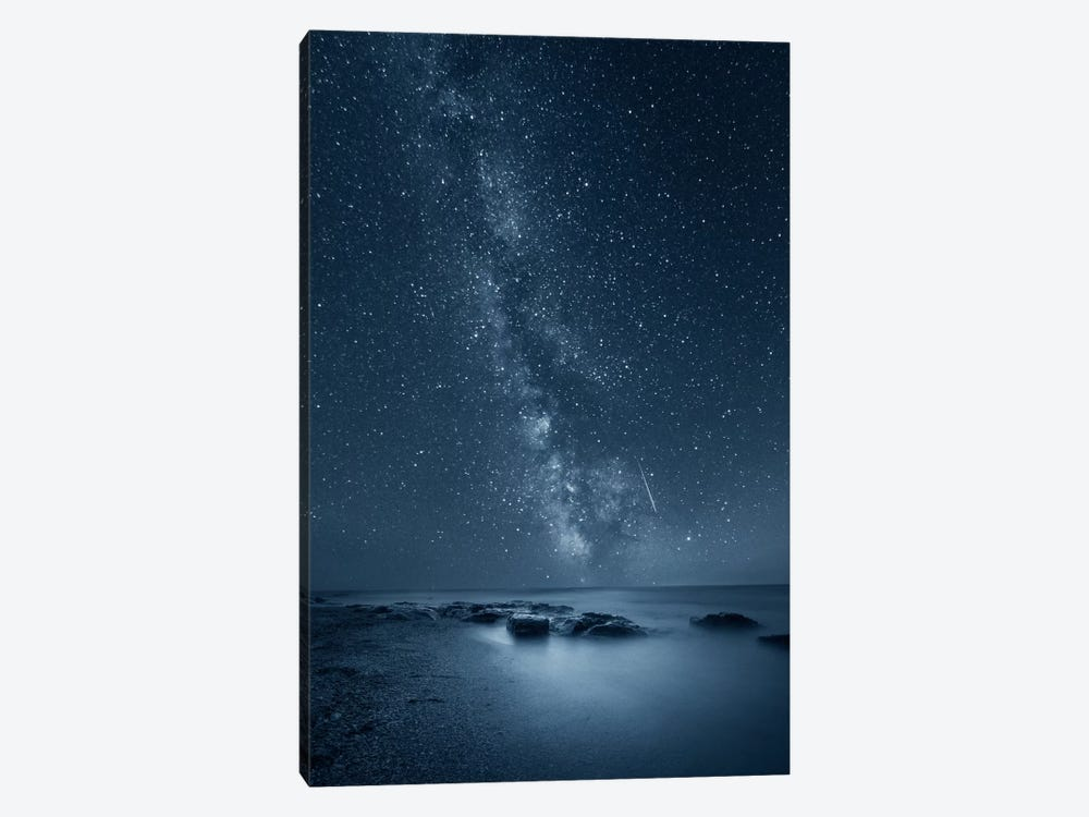 Night Sky by Adrian Borda 1-piece Canvas Art Print