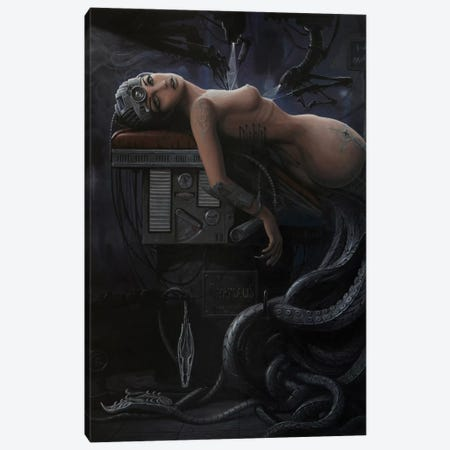 Rebirth Of A Myth 3-Piece Canvas #BOR44} by Adrian Borda Canvas Artwork