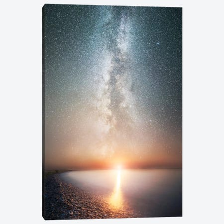 Reflecting Infinity Canvas Print #BOR45} by Adrian Borda Canvas Wall Art