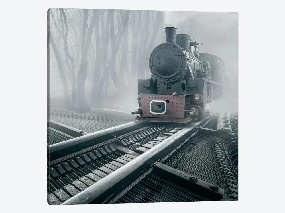 Romantic Tracks by Adrian Borda 1-piece Canvas Art