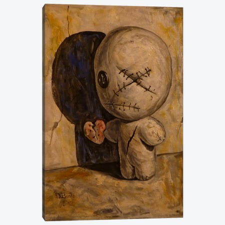 The Shadow Is My Only Friend Canvas Print #BOR50} by Adrian Borda Canvas Wall Art