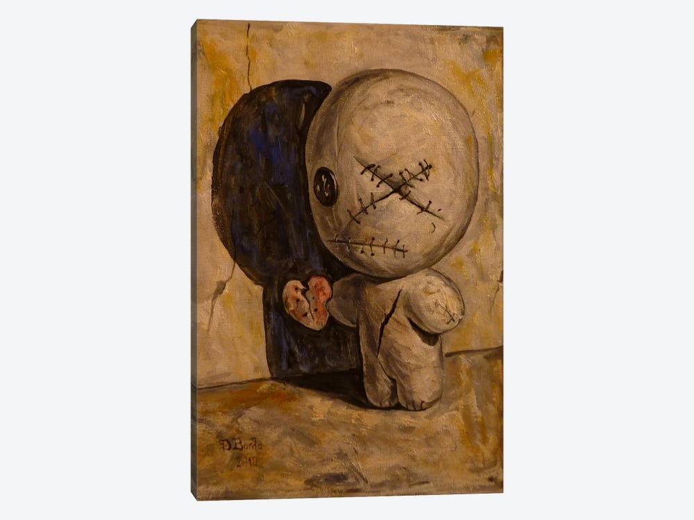 The Shadow Is My Only Friend by Adrian Borda 1-piece Canvas Wall Art