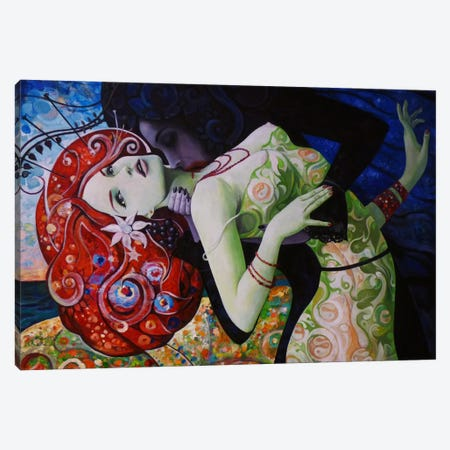 Summer Wine Canvas Print #BOR56} by Adrian Borda Canvas Art Print