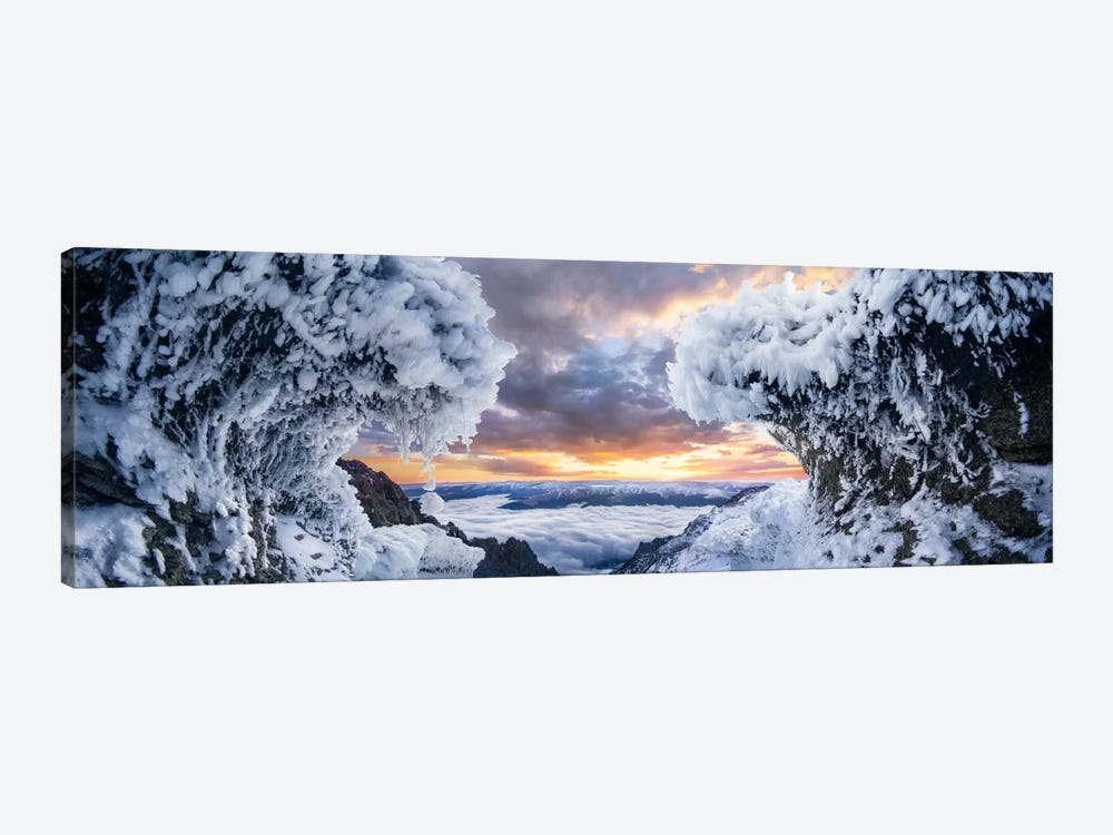 Where The Waves Collide by Adrian Borda 1-piece Canvas Wall Art