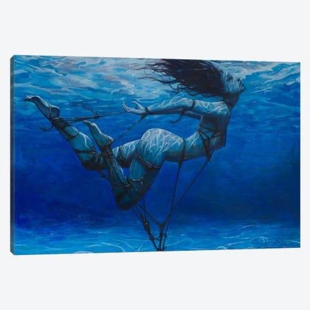 Angel Canvas Print #BOR6} by Adrian Borda Art Print