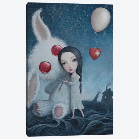 You Are Safe Now Canvas Print #BOR71} by Adrian Borda Canvas Art
