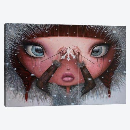 You'll Never Melt On Me Again Canvas Print #BOR72} by Adrian Borda Canvas Wall Art