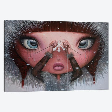 You'll Never Melt On Me Again Canvas Print #BOR72} by Adrian Borda Canvas Wall Art