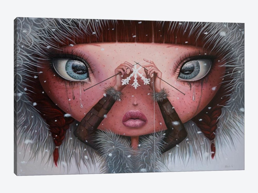 You'll Never Melt On Me Again by Adrian Borda 1-piece Canvas Art