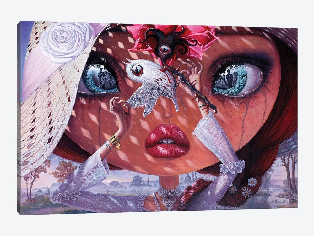 A Heart's Lullaby by Adrian Borda 1-piece Canvas Print