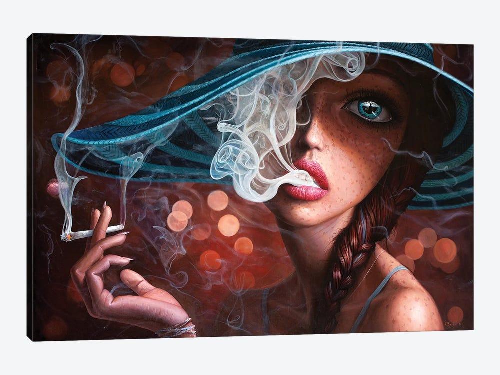 Enter The Void I by Adrian Borda 1-piece Canvas Artwork