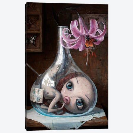 Love Slowly Kills V Canvas Print #BOR77} by Adrian Borda Canvas Print