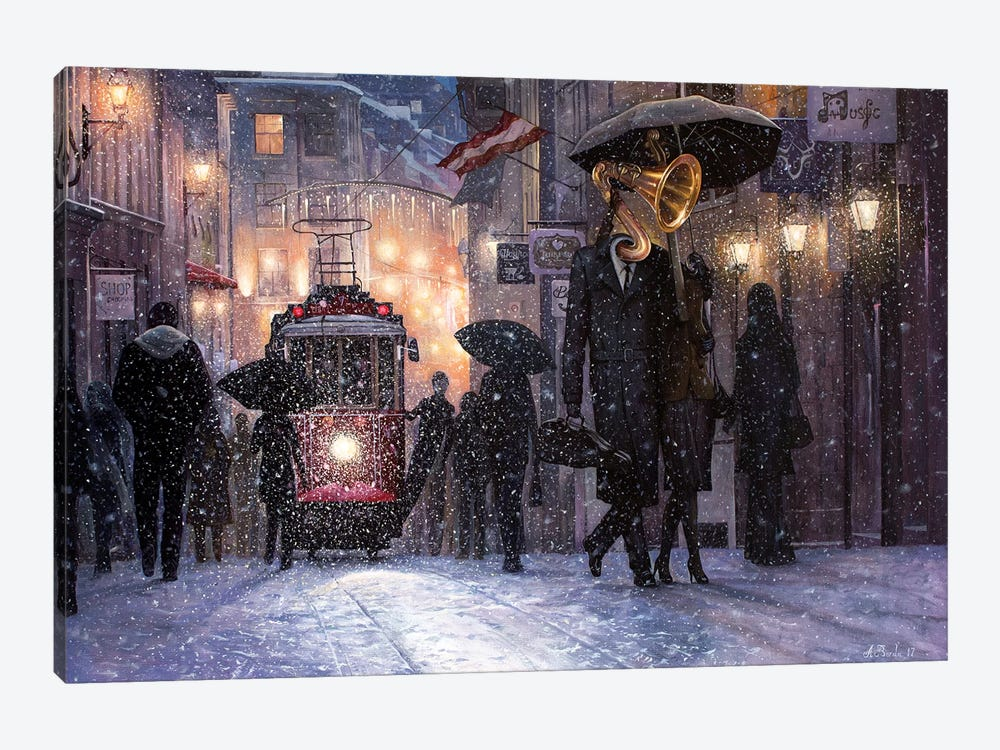 Return From The Concert by Adrian Borda 1-piece Canvas Art Print