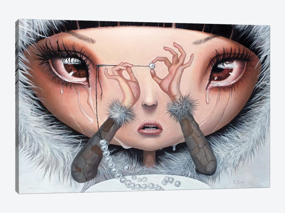Sadness Is My Single Fortune by Adrian Borda 1-piece Canvas Artwork