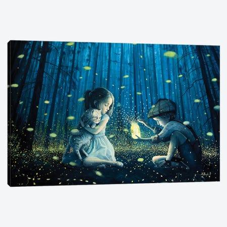 The Magic Lantern Canvas Print #BOR86} by Adrian Borda Canvas Wall Art