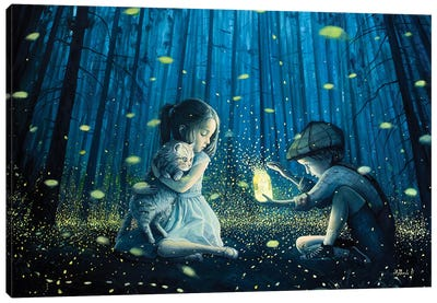The Magic Lantern Canvas Art Print