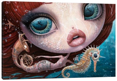 The Song Of The Sea Canvas Art Print