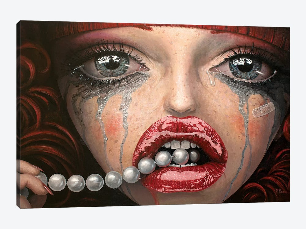 Whatever Turns You On by Adrian Borda 1-piece Canvas Artwork