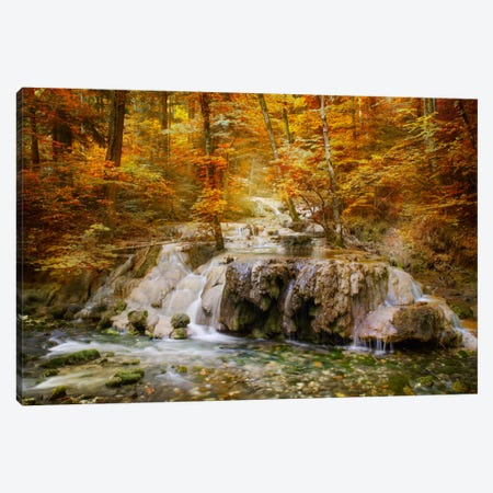 Autumn Mood Canvas Print #BOR8} by Adrian Borda Canvas Wall Art