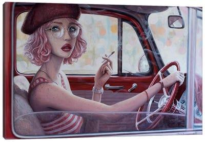 Never Stop Falling In Love II Canvas Art Print
