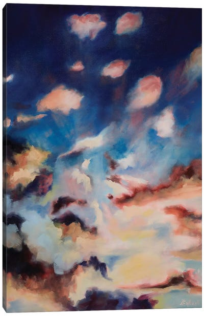 Colored Skies I Canvas Art Print