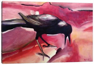 CrowI Canvas Art Print